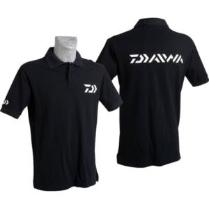 Tricou polo Daiwa bumbac negru