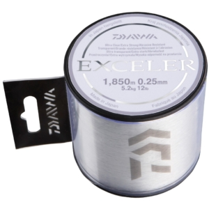 Fir Monofilament Daiwa Exceler, Transparent, 450m-1850m