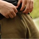 Pantaloni scurti Korda Kore Jersey olive