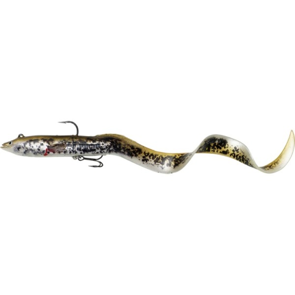 Naluca Savage Gear 4D Real Eel Olive Pearl