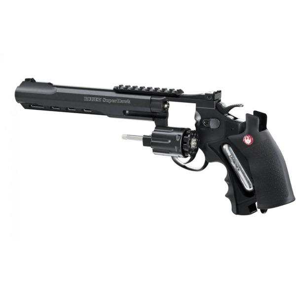 """Pistol Airsoft Ruger SuperHawk 8"""", Black"""