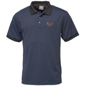 Tricou polo bleumarin Savage Gear mar. XXL