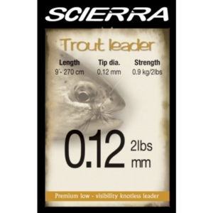 Leader Scierra Trout 2.7m