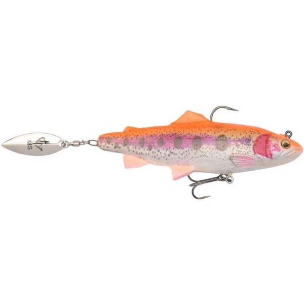 Shad Savage Gear 4D Trout Spin Golden Albino