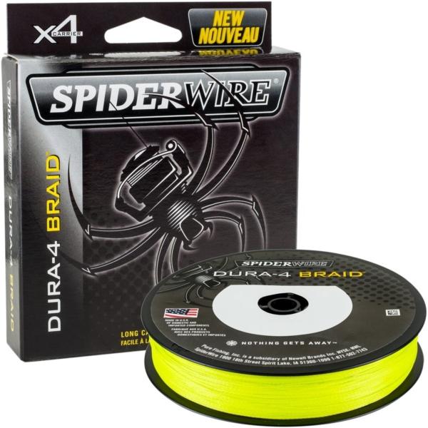 Fir textil Spiderwire Dura 4 galben 150m