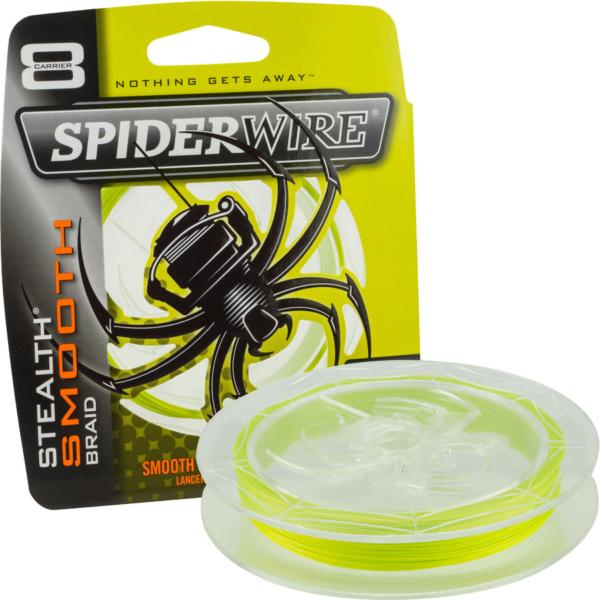 Fir textil Spiderwire Stealth 8 galben 150m