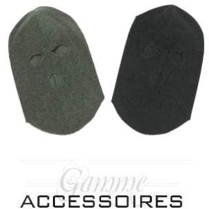 Cagula fleece kaki/neagra