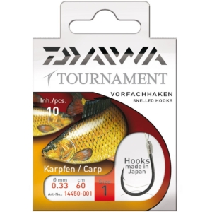 Montura Daiwa Tournament Carp, 10buc/plic