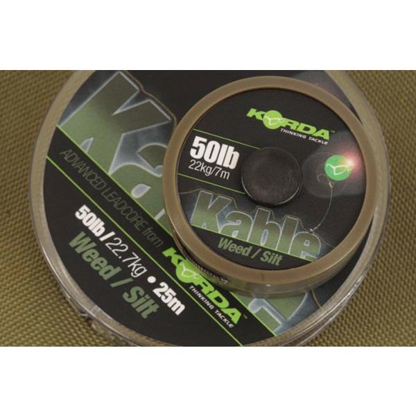 Fir Leadcore Korda Kable, 50lbs, 7m