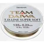 Fir Monofilament Daiwa TD Super Soft, Transparent, 135m