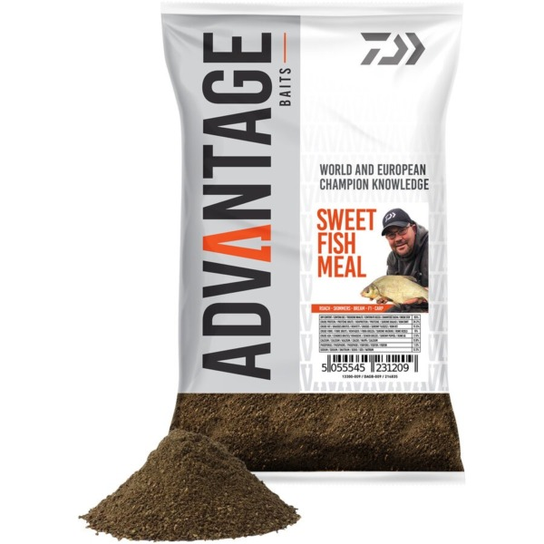 Groundbait Daiwa Advantage, 1kg/punga, Sweet Fish Meal