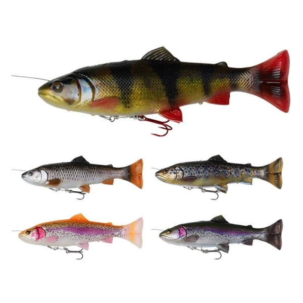 Shad Savage Gear 4D Line Thru Pulse Tail Trout
