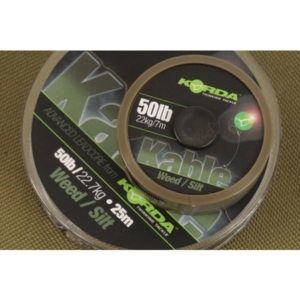 Fir Leadcore Korda Kable, Weed, 25m