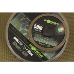 Fir Leadcore Korda Kable, Weed, 25m