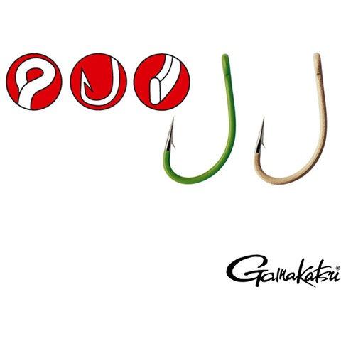 Carlige Gamakatsu A1 G-Carp Special, Camo Sand, 10buc/plic