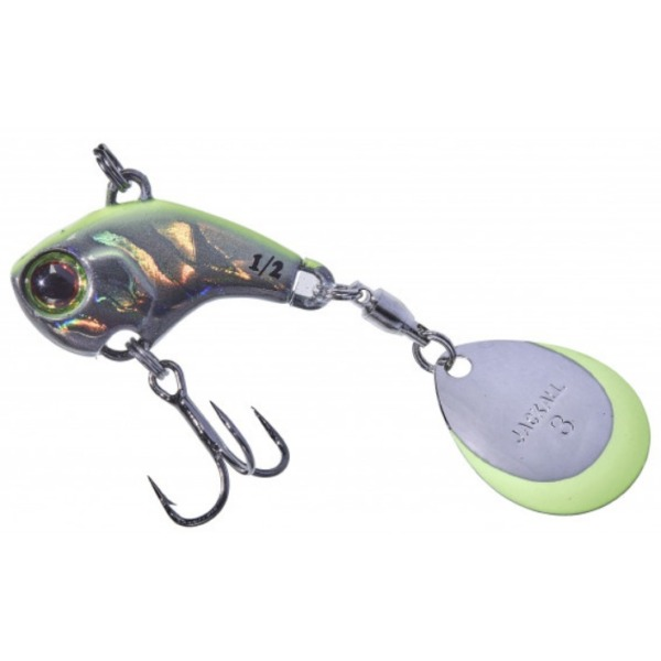 Spinner Illex Deracoup 32 Silver Chartreuse Black