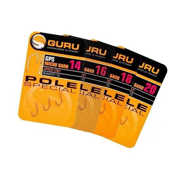Carlige Guru GPS Micro Barb, 10buc/plic