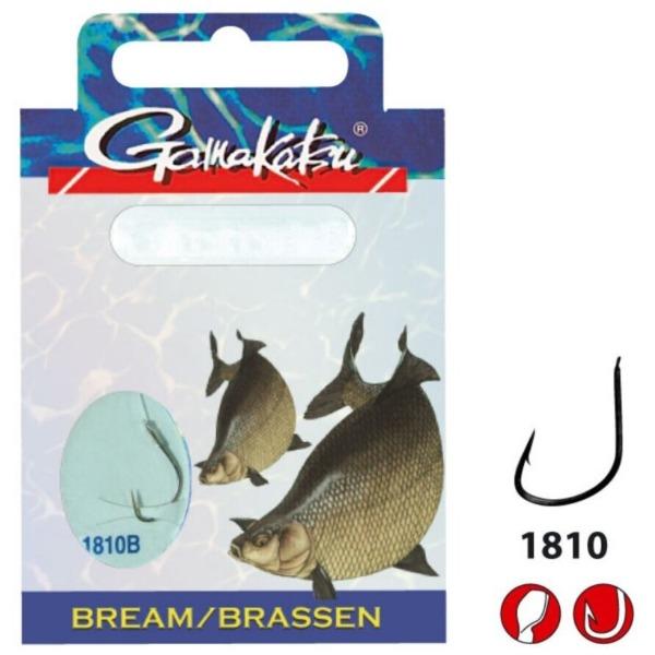 Carlige Legate Gamakatsu Bream Feeder LS-1810, 10buc/plic