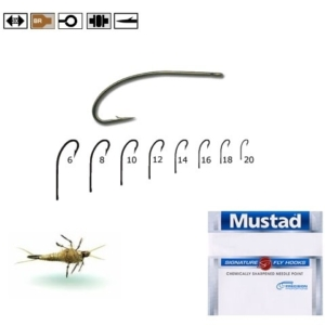 Carlige Mustad Signature Fly Hooks, 10buc/plic