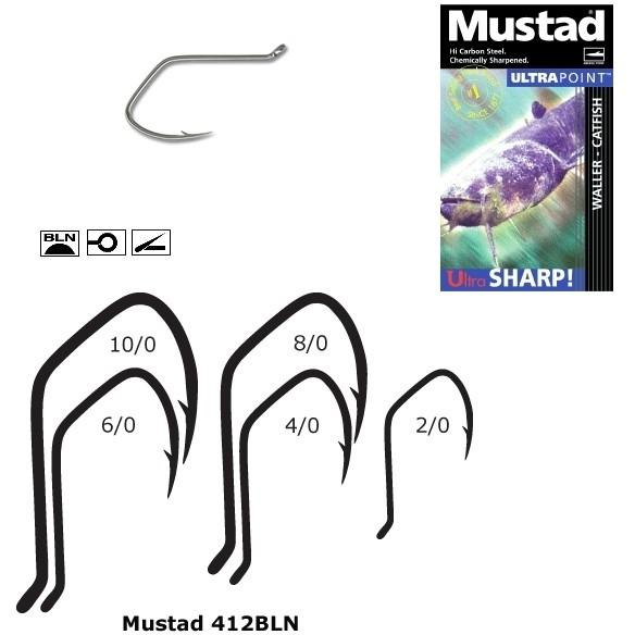 Carlige Mustad Ultra Sharp Catfish, Black Nickel