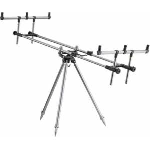 Rod Pod Aluminiu Cormoran Pro Carp Gun Pod, 3 posturi