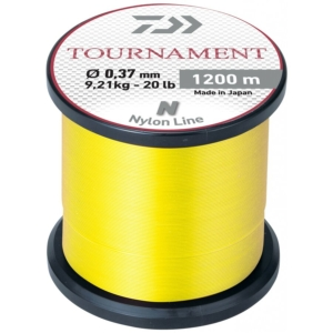 Fir Monofilament Daiwa Tournament Nylon, Galben Fluo, 1200m