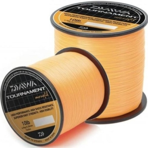 Fir Monofilament Daiwa Tournament Fluo Orange, 740m - 1540m