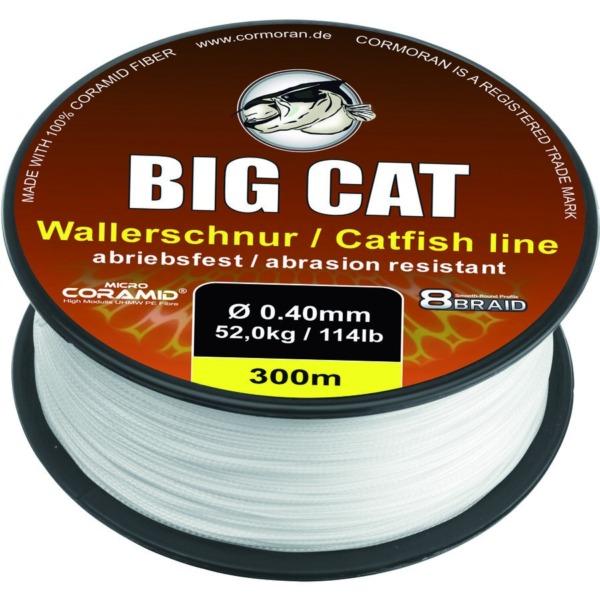 Fir Cormoran Big Cat 8-Braid Line Catfish, White