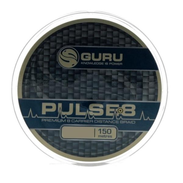 Fir Monofilament Guru Pulse 8 Braid, Brown, 150m
