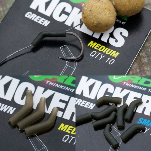 Rig Aligner Korda D-Rig Kickers, Green, 10buc/plic