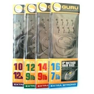 Monturi Guru Method Hair Rigs, 8 buc/plic