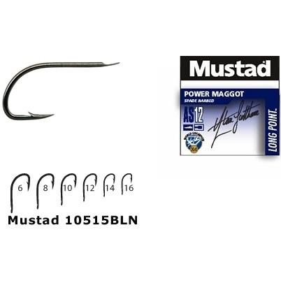 Carlig Mustad Forjat BLN Power Maggot, 10buc/plic
