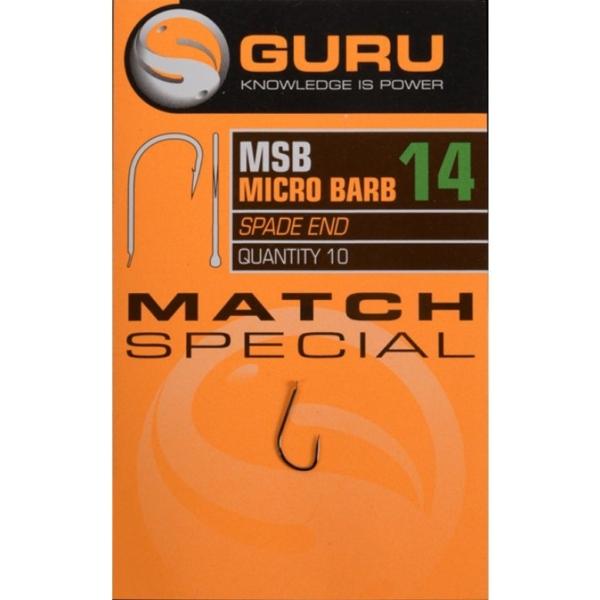 Carlige Guru MSB Micro Barb, 10buc/plic