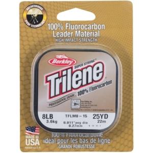 Fir Monofilament Berkley Trilene Fluorocarbon, 50m