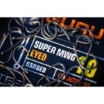 Carlige Guru Super MWG Eyed Barbed, 10buc/plic