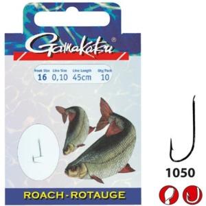Carlige Legate Gamakatsu Roach, 10buc/plic
