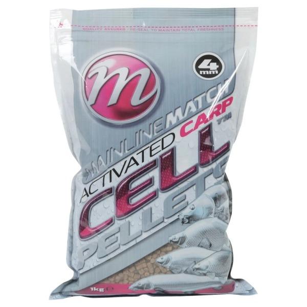 Pelete Mainline Match Activated Carp Cell Pellets, 1kg, 4mm