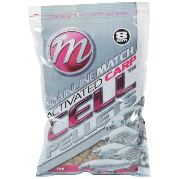 Pelete Mainline Match Activated Carp Cell Pellets, 1kg, 8mm