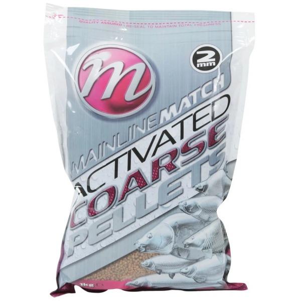 Pelete Mainline Match Activated Carp Coarse Pellets, 1kg, 2mm