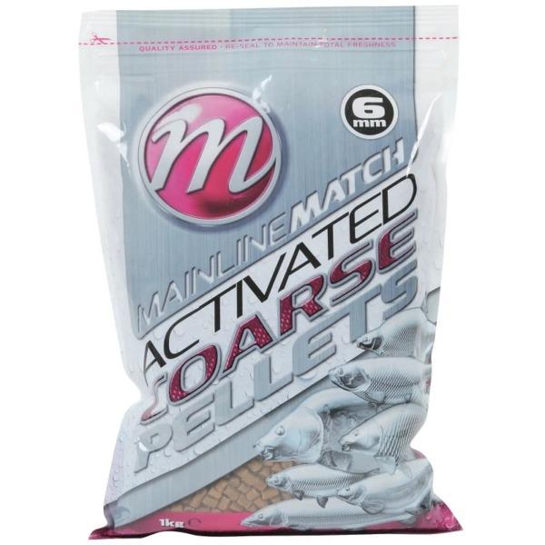 Pelete Mainline Match Activated Carp Coarse Pellets, 1kg, 6mm