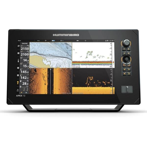 Sonar Humminbird APEX 13 Mega SI+ Chartplotter