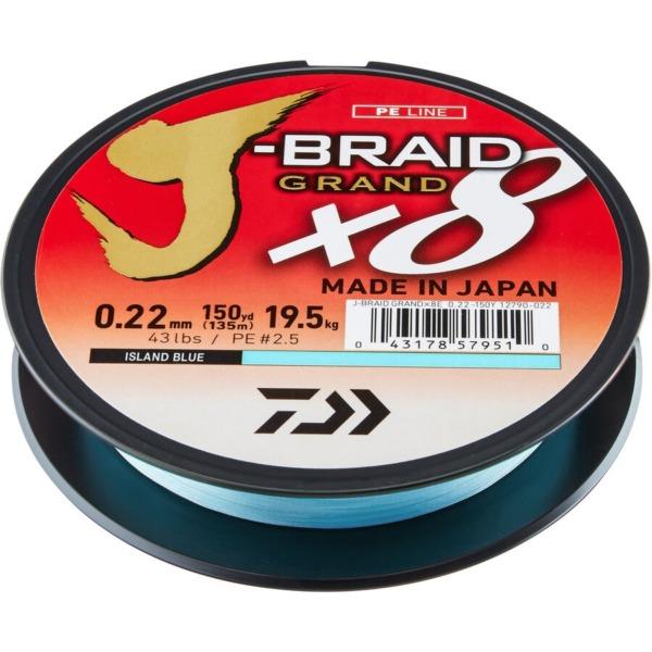 Fir Daiwa J-Braid Grand X8, Albastru
