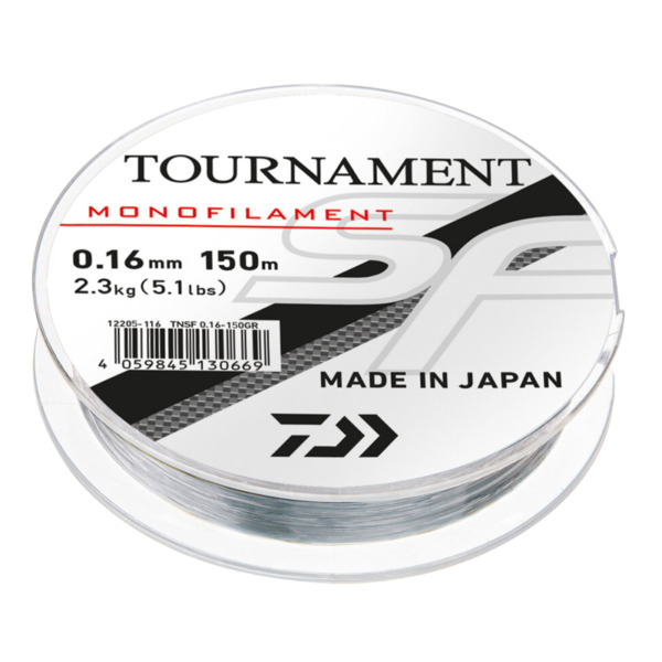 Fir Daiwa Tournament SF Line, Gri Transparent
