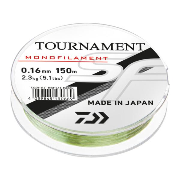 Fir Daiwa Tournament SF Line, Verde Transparent