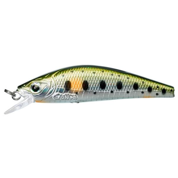 Vobler Gunki Gamera 63 HW Spot Green Trout