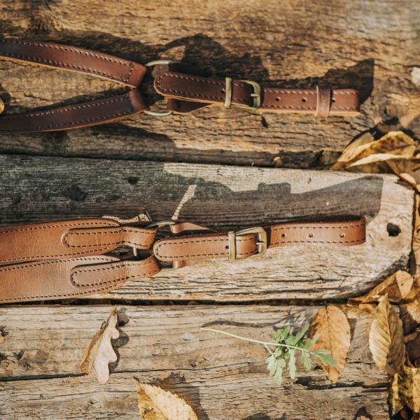 Curea arma md. 7F dubla reglabila, cu fermoar, piele