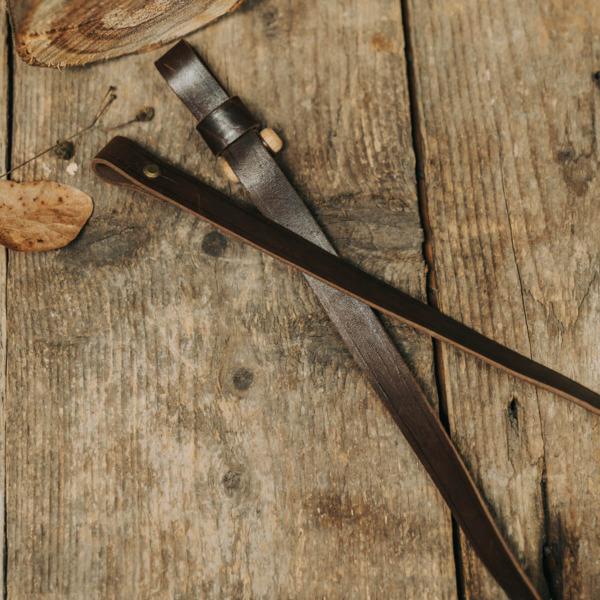 Curea arma md. 1L, cu lemnisor, piele
