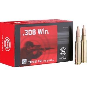 Cartuse Geco Target FMJ, .308 Win