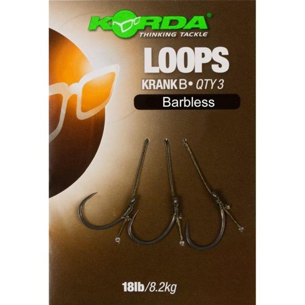 Montura Korda Loops Krank Barbless