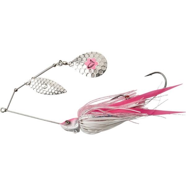 Spinnberbait Savage Gear Da'Bush Pink Silver